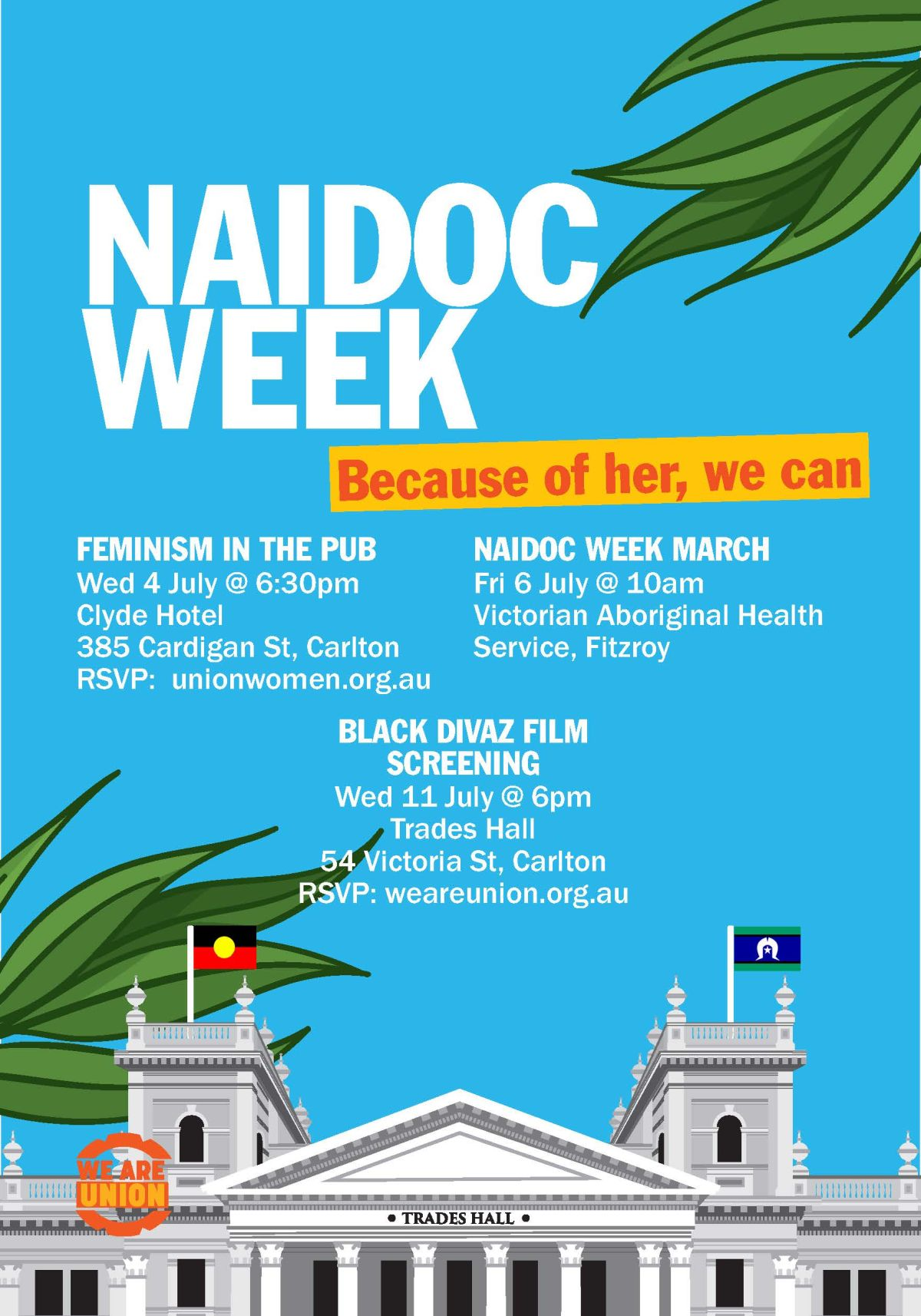 naidoc week 18 flyer