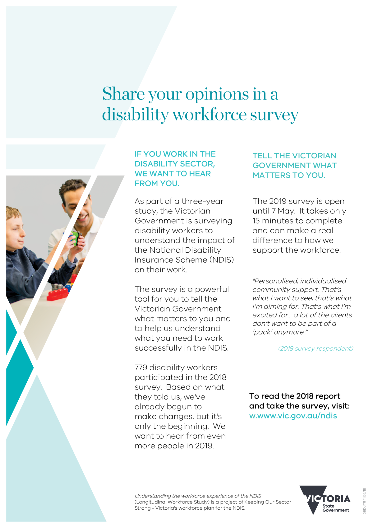 DHHS survey