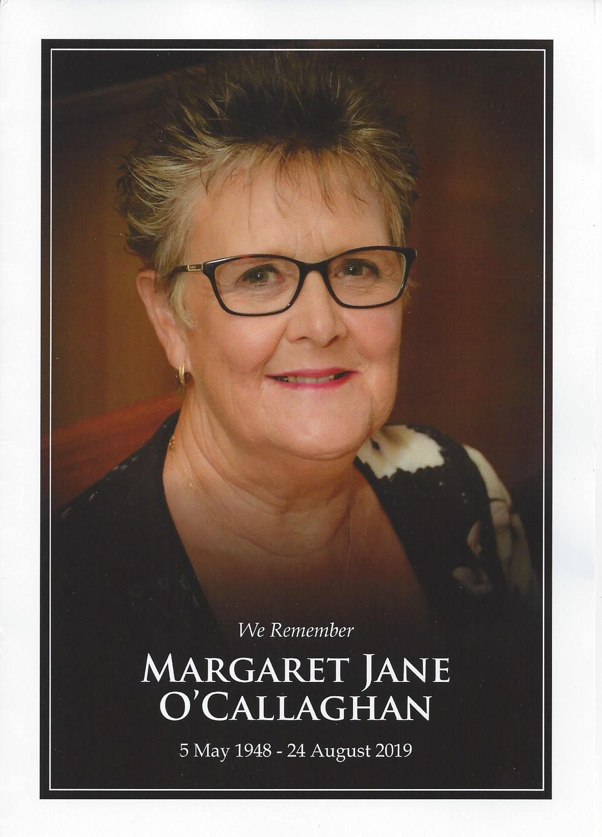 Marg OCallaghan