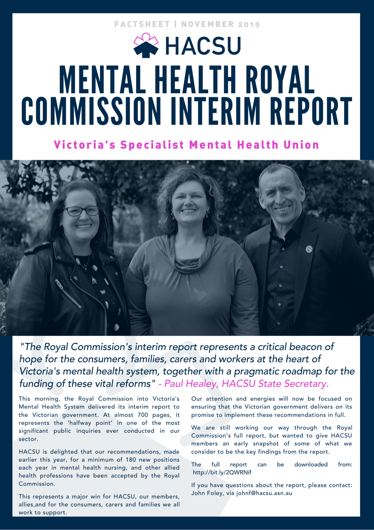 Mental Health Royal Commission