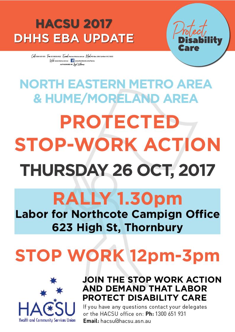 20171009 nema moreland hume northcote rally
