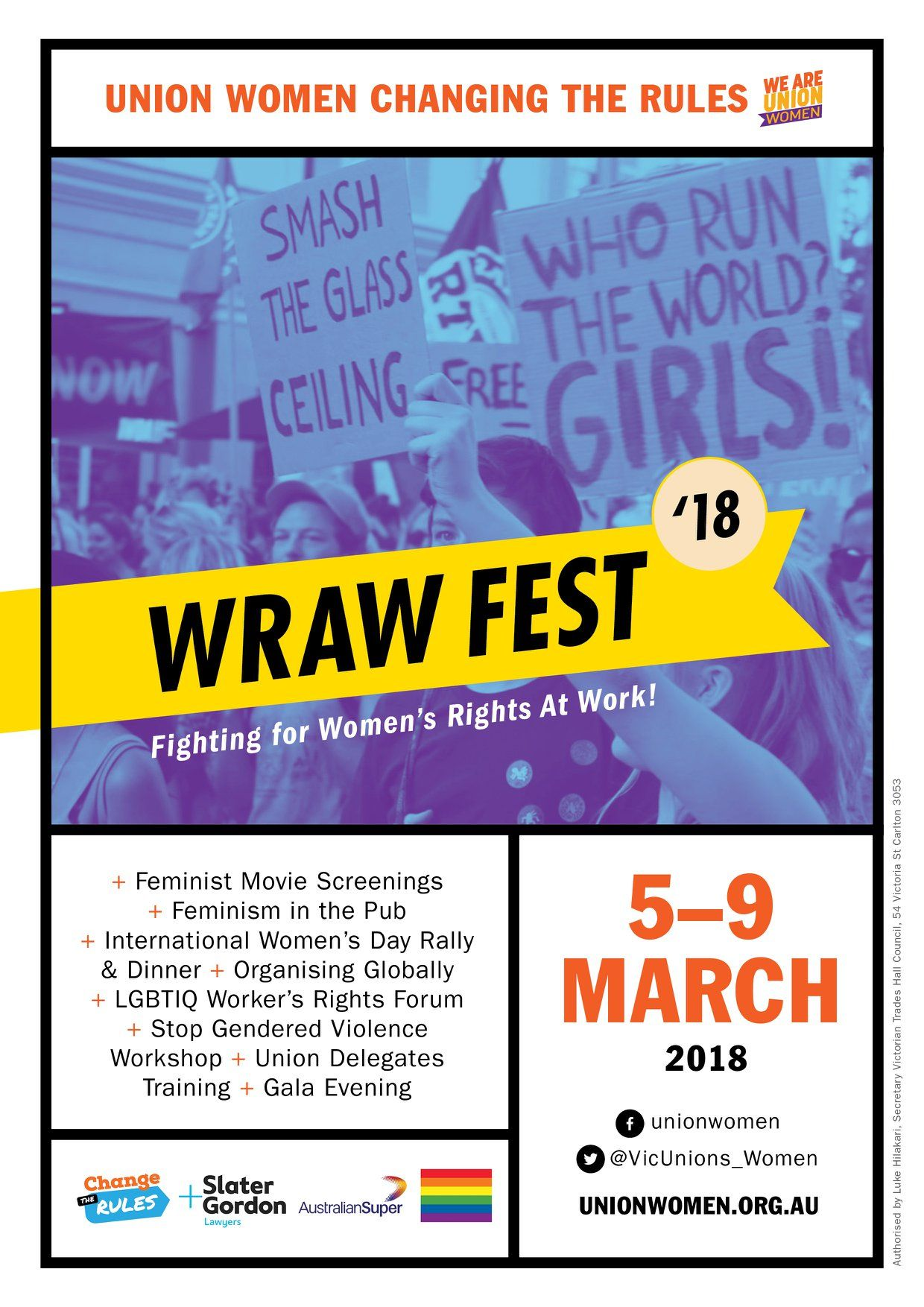 wraw poster